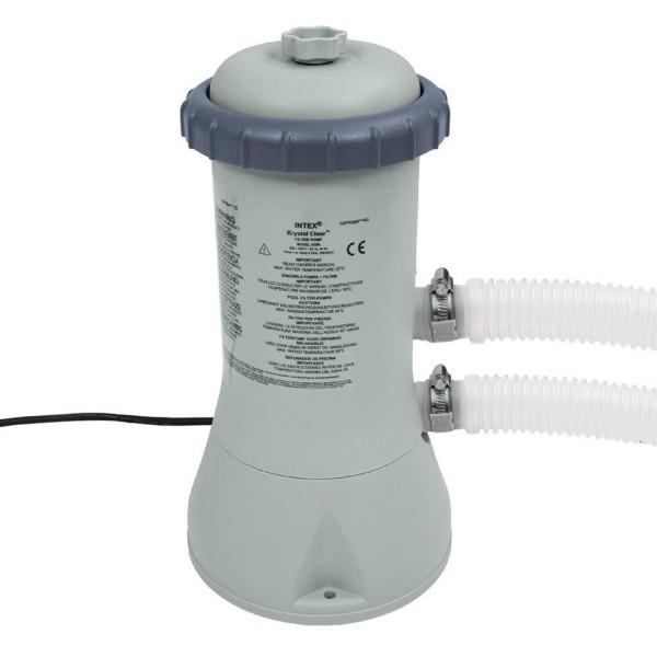 Intex 28638 Pool Filterpumpe 3785 l/h Schwimmbad Pumpe Kartuschenfilter