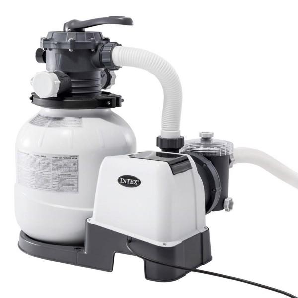Intex 26646 Sandfilteranlage 7,9m³/h Filterpumpe 7900 l/h Filterkessel für Pool