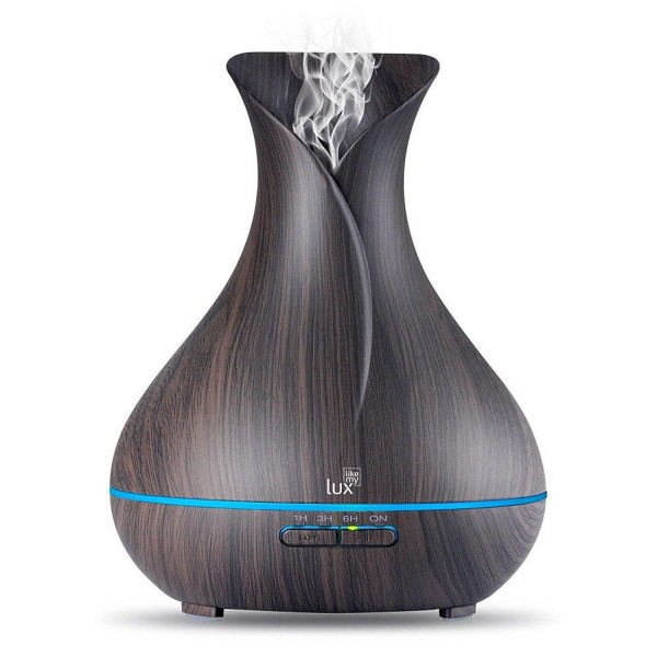 Aroma Diffuser Likemylux 400ml Luftbefeuchter Ultraschall Öl Diffusor LED