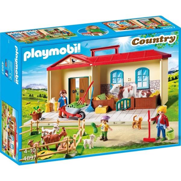 Playmobil 4897 Mitnehm-Bauernhof
