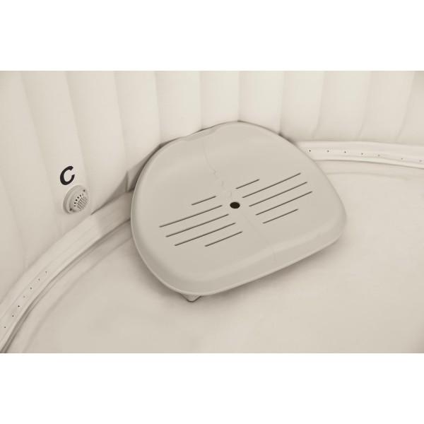 Intex Whirlpoolzubehör Kunststoff-Sitz höhenverstellbar für Pure SPA, beige, 47 x 36 x 22 cm