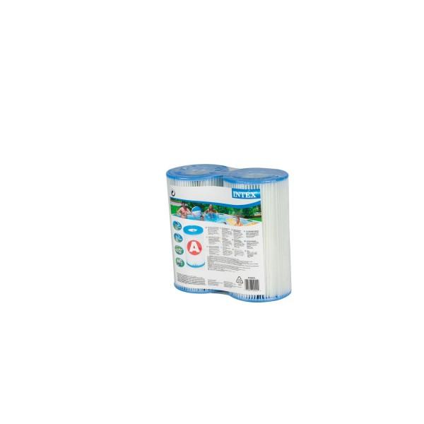 Intex Filterpatrone für Schwimmbecken blau 10,8 x 21,6 x 20,3 cm - 2er Set