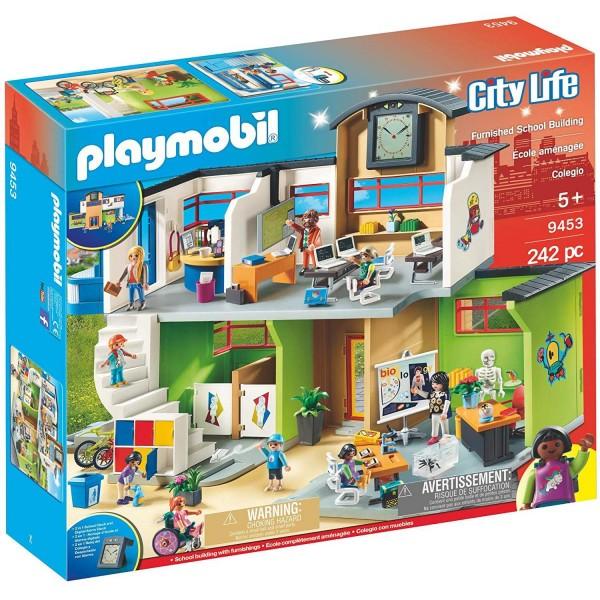 Playmobil 9453 Große Schule mit Einrichtung