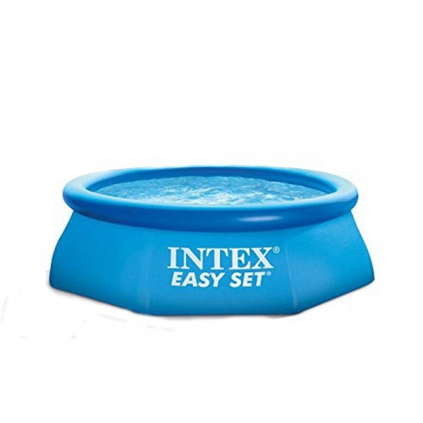 Intex Easy Set Aufstellpool, blau, Ø 244 x 76 cm