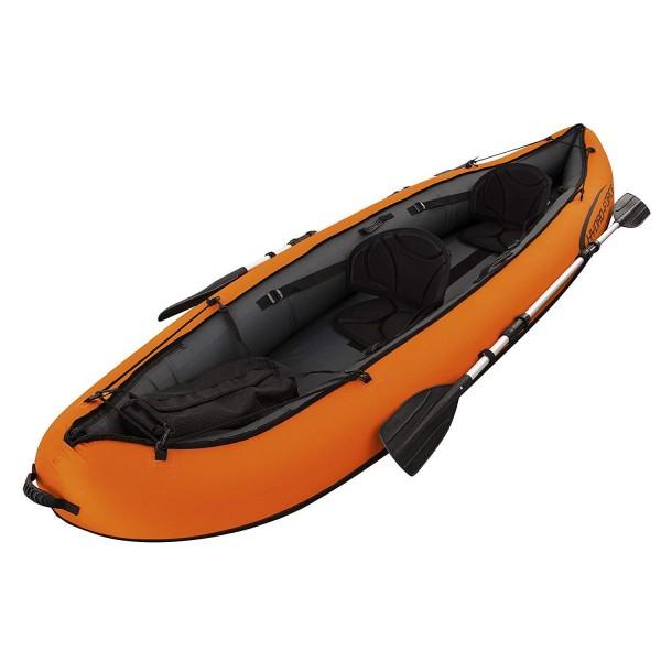 Bestway Kajak Hydro-Force Schlauchboot Boot mit Paddel + Pumpe 65052 aufblasbar