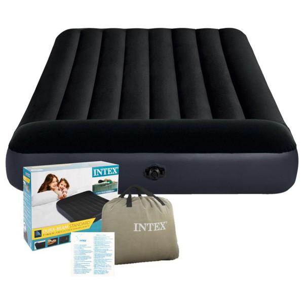 Intex Luftbett Gästebett Luftmatratze Camping 191x137x25cm aufblasbar 64142