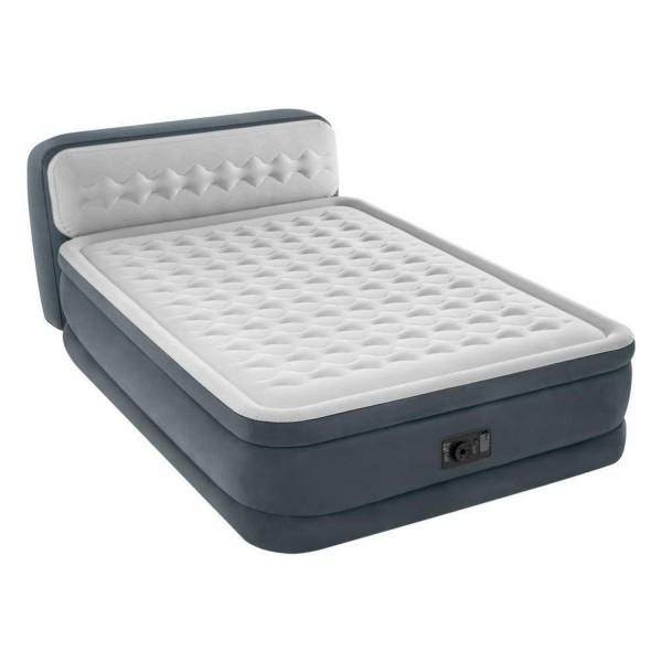 Intex Luftbett mit Pumpe Gästebett Luftmatratze 236x152x86cm selbstaufblasend