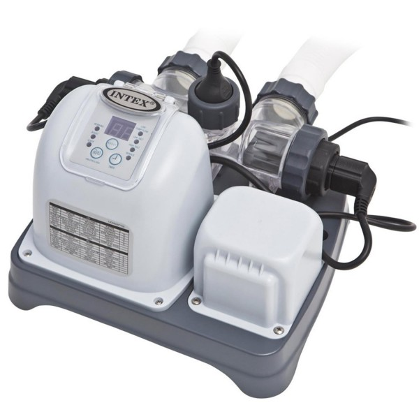 Intex 28668 Chlorgenerator Salzgenerator Salzwassersystem Chlorfrei bis 26.500 L