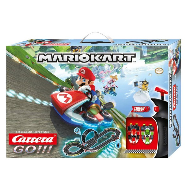 Carrera GO!!! Nintendo Mario Kart 8 20062491 Autorennbahn Rennbahn 4,9m 2 Autos
