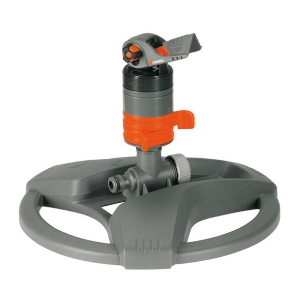 Gardena Comfort Turbinenregner 8143-20 mit Schlitten Regner Rasensprenger 450m²