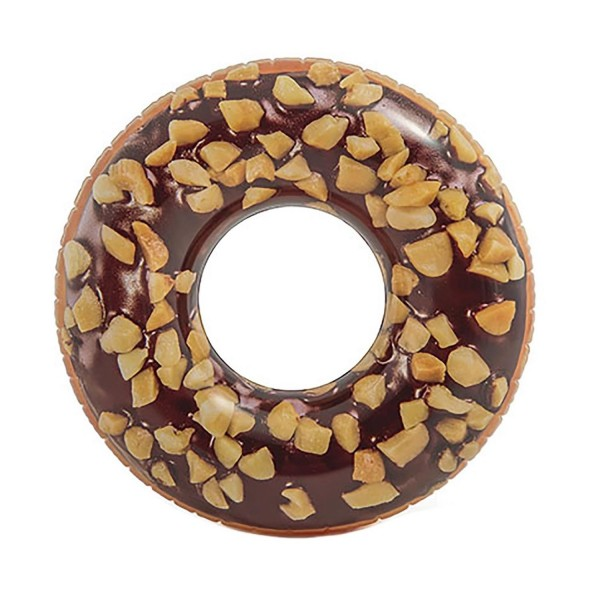 Intex Donut Reifen Schwimmring Lounge Luftmatratze 107 x 99 cm-hell