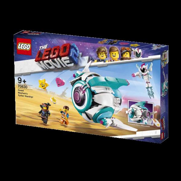 THE LEGO MOVIE 2 70830 Sweet Mischmaschs Systar Raumschiff