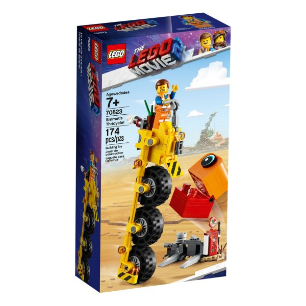 THE LEGO MOVIE 2 70823 Emmets Dreirad!