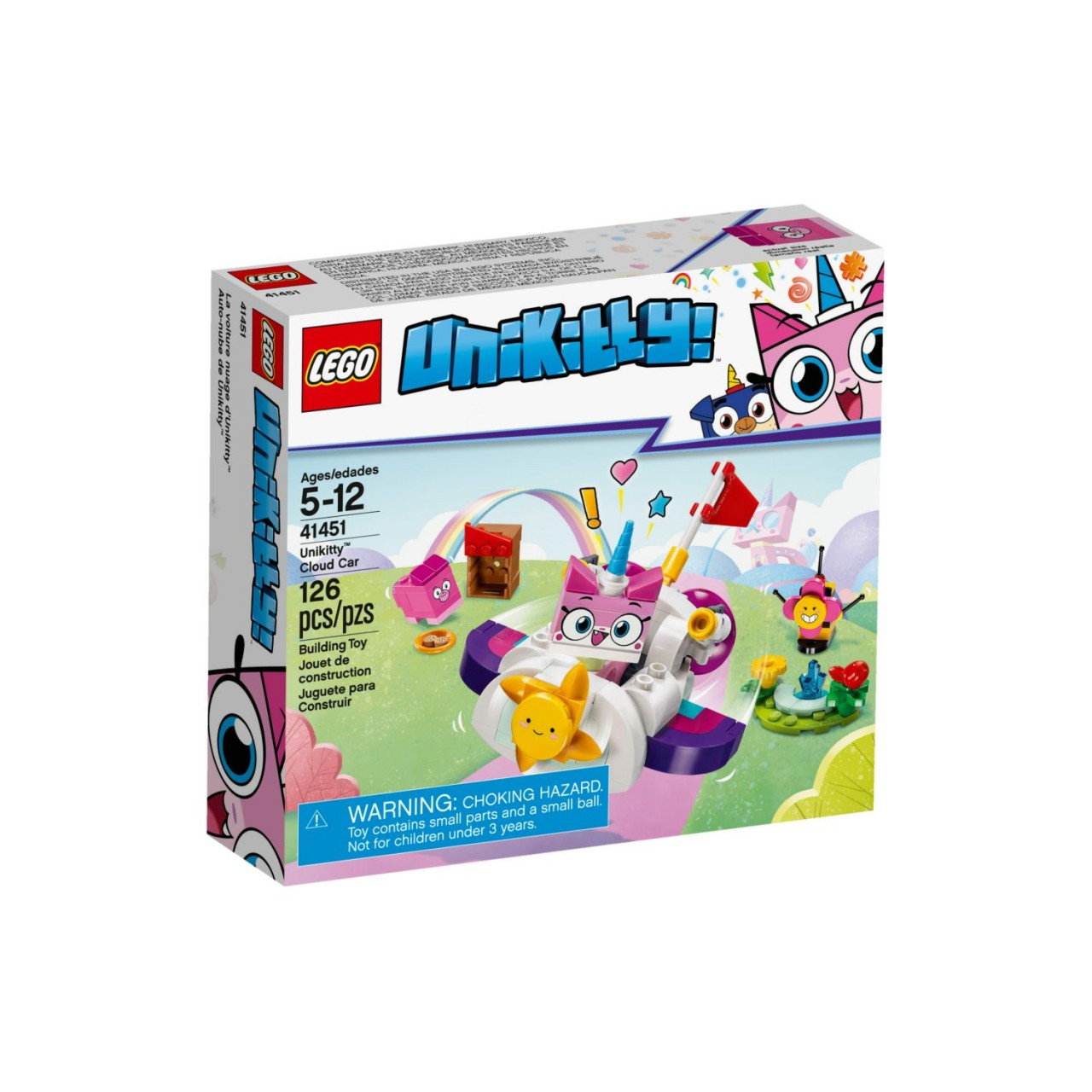 LEGO UNIKITTY! 41451 Einhorn-Kittys Wolkenauto