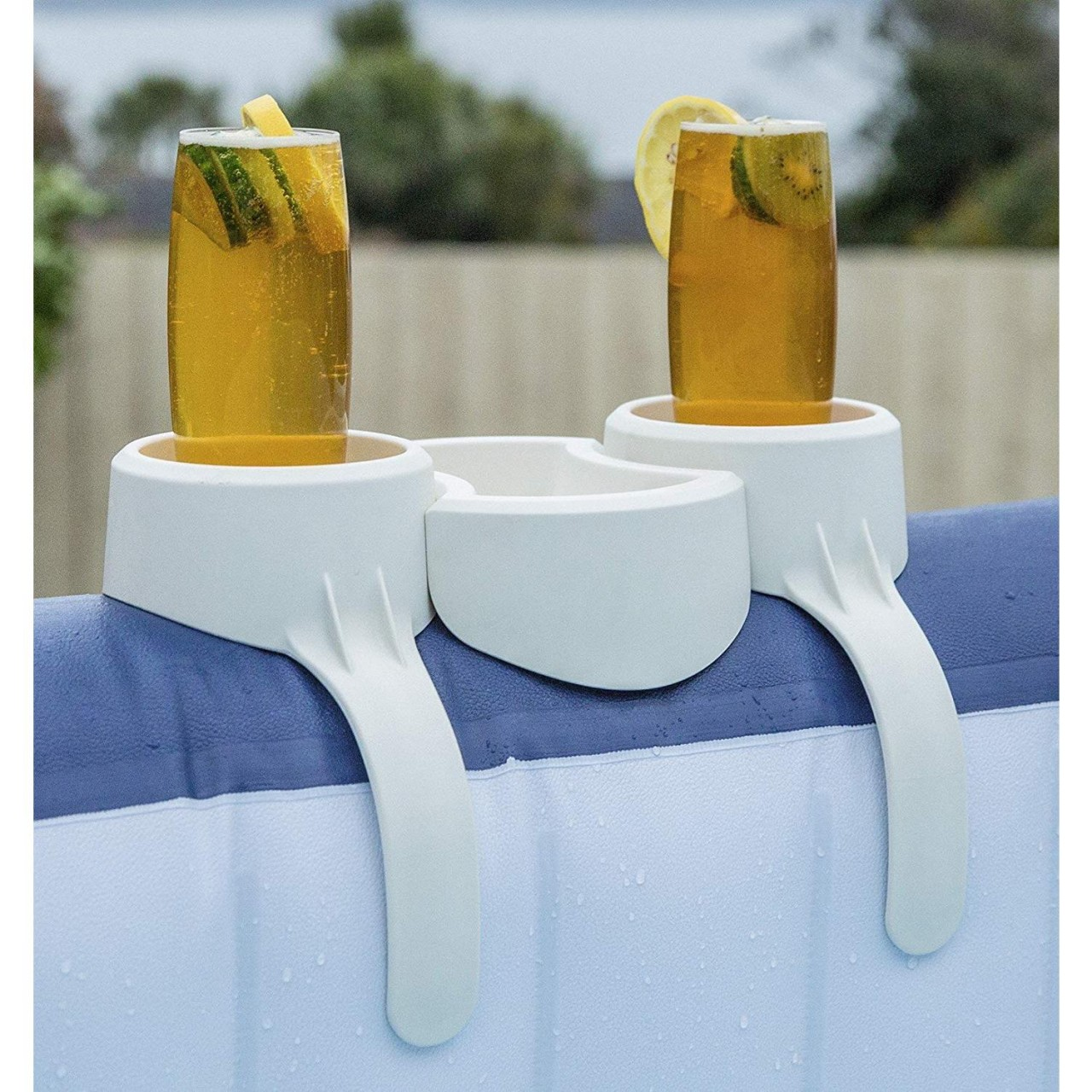 Bestway Lay-Z-Spa Getränkehalter 2 Getränke Snackablage Behälter Ablage 58416
