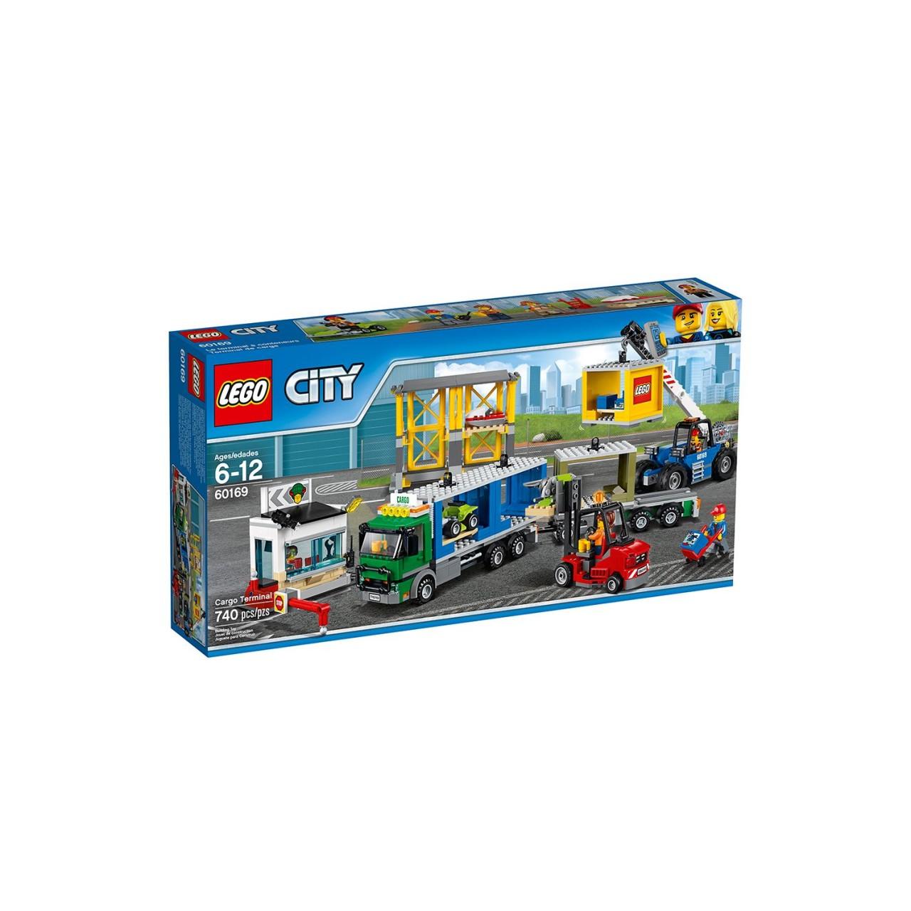 LEGO CITY 60169 Frachtterminal