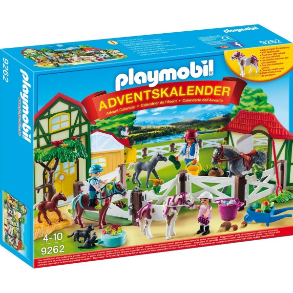"Playmobil 9262 Adventskalender ""Reiterhof"""