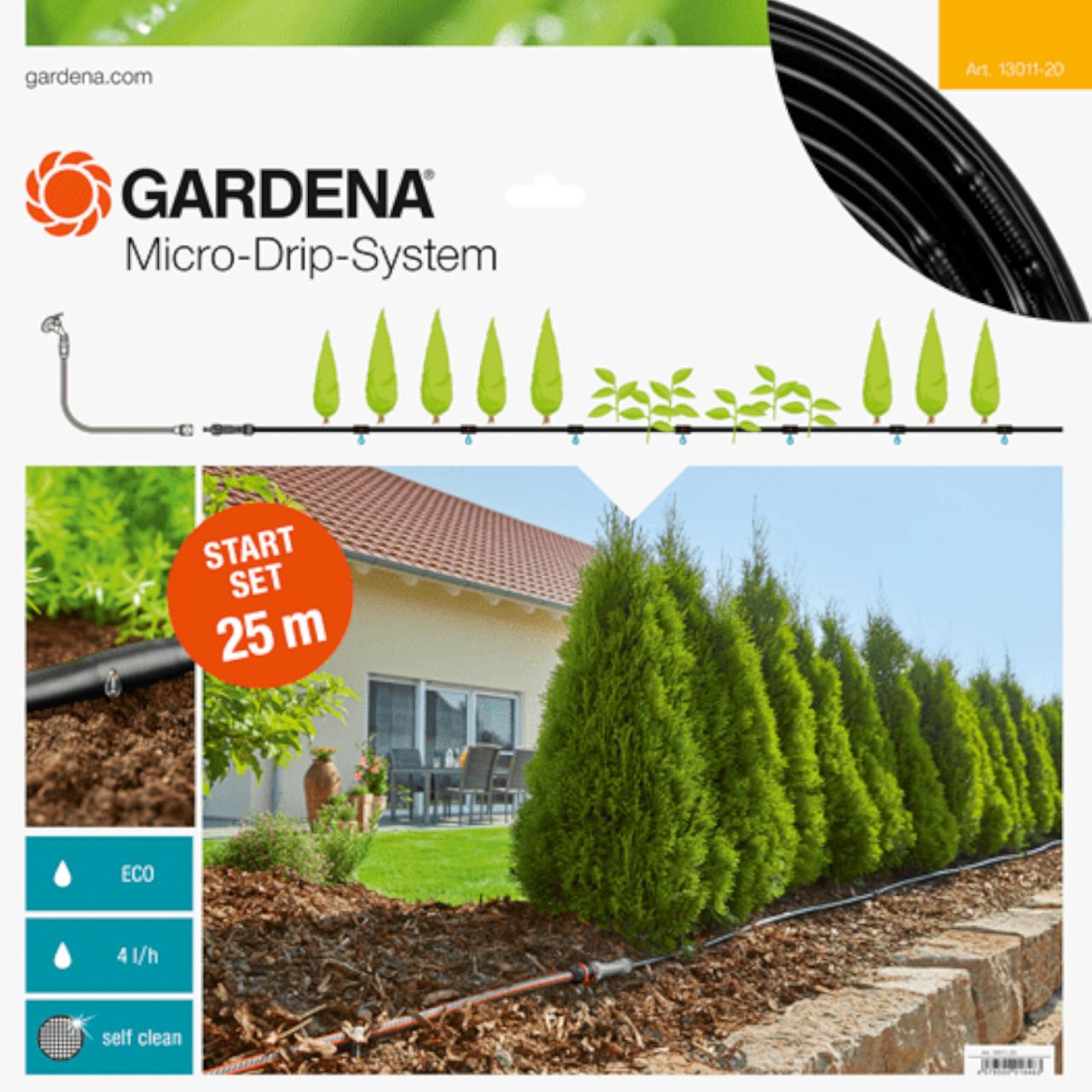 Gardena 13011-20 Micro-Drip-System Start Set Pflanzreihe M