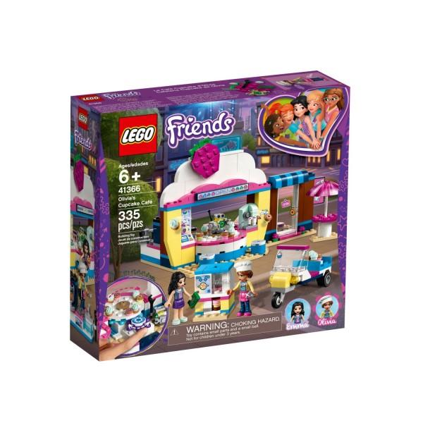LEGO FRIENDS 41366 Olivias Cupcake-Café