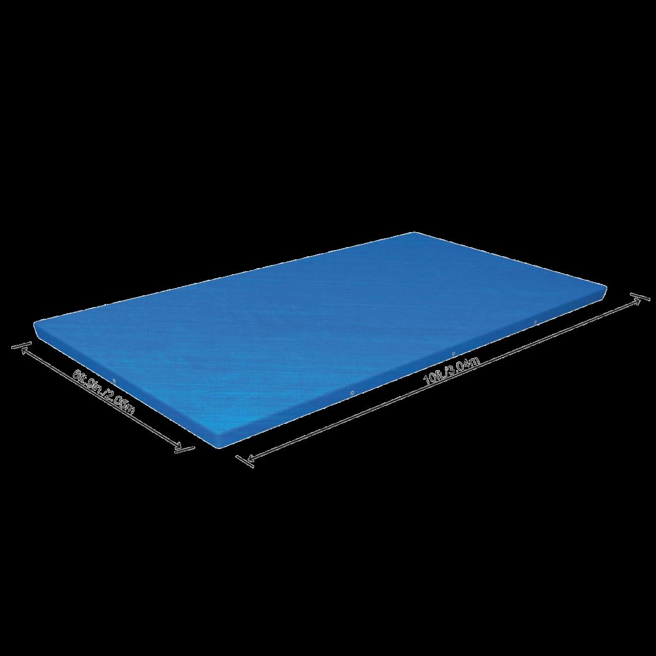 Bestway 58107 Abdeckplane für Frame Pool 400 x 211 cm