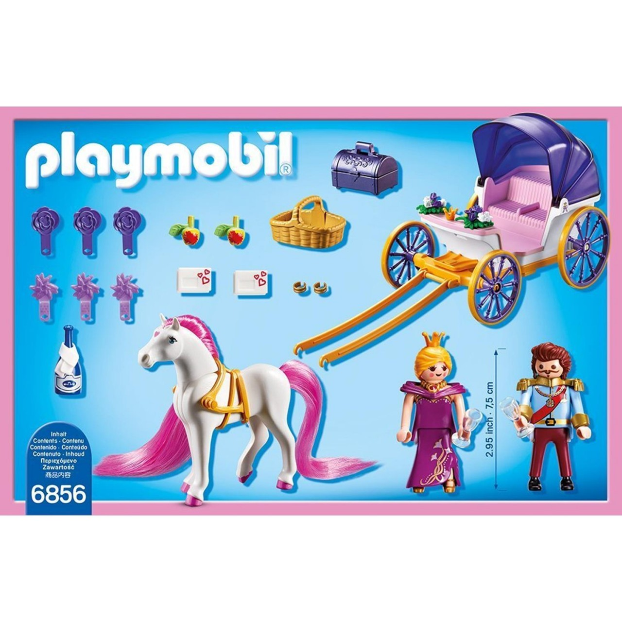 Playmobil 6856 Königspaar mit Pferdekutsche