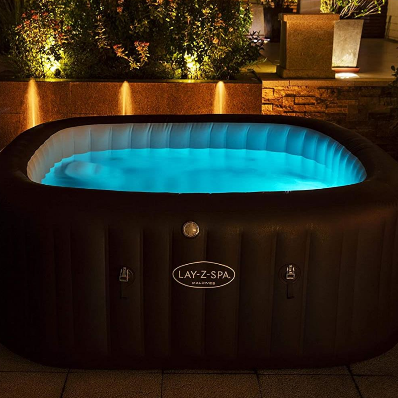 Bestway 60302 Lay-Z-Spa ColorJet LED-Licht Poolbeleuchtung 7 Farben Wasserdicht