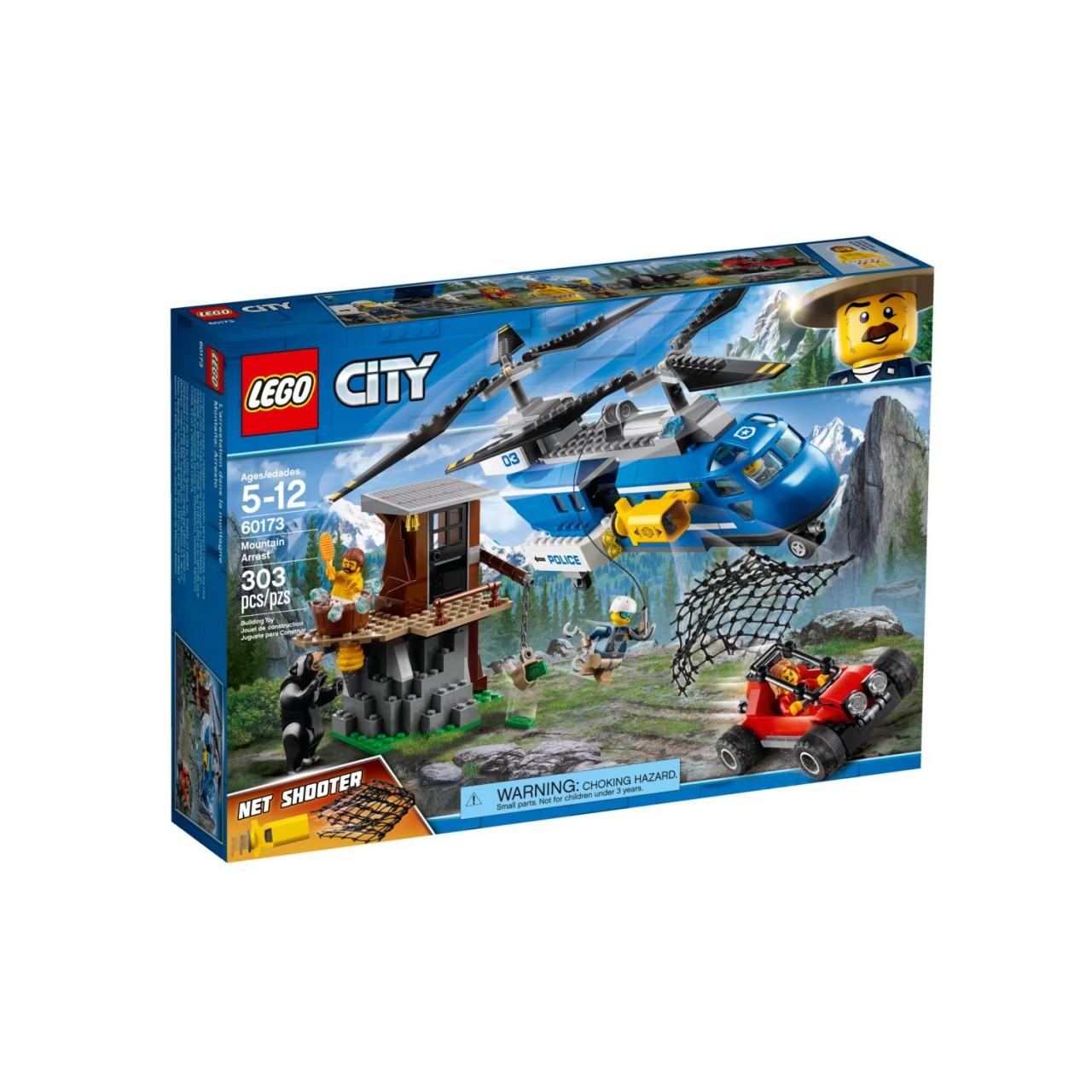LEGO CITY 60173 Bergpolizei Festnahme in den Bergen