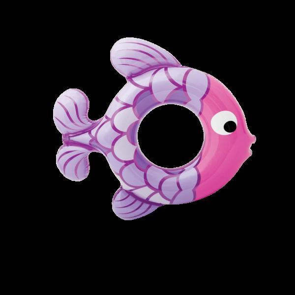 INTEX Schwimmring Fisch 77 x 76 cm Schwimmhilfe Ring Badespaß 59222