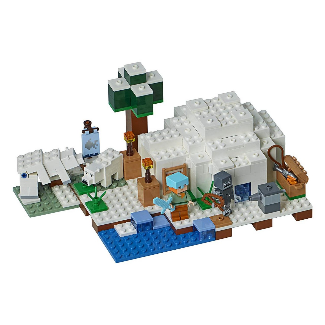 LEGO MINECRAFT 21142 The Polar Igloo