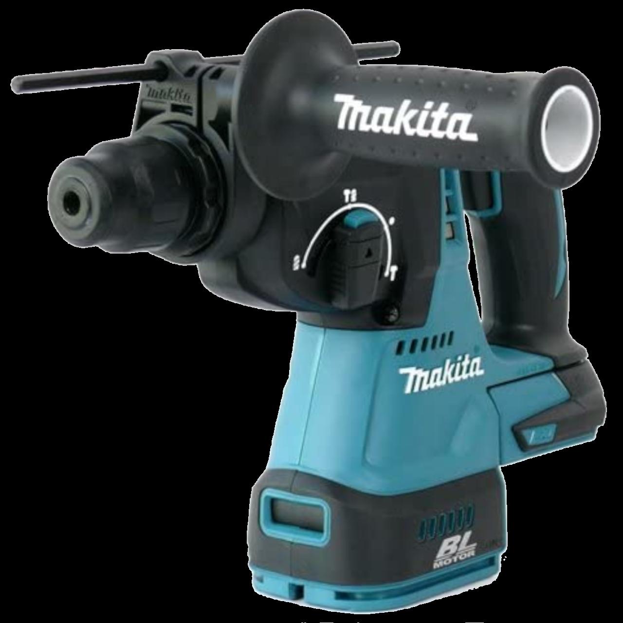 Makita DHR243ZJ Akku-Kombihammer im MAKPAC Gr. 4 inkl. Einlage, 18V, SDS-PLUS, 24 mm, 2,0 J