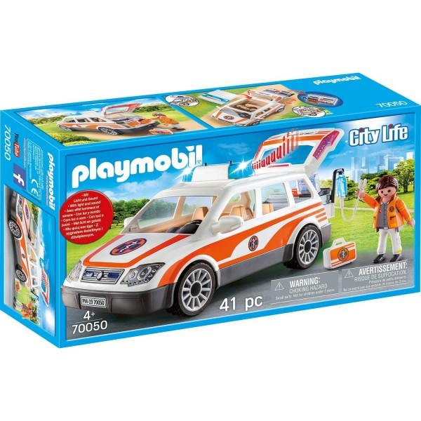 Playmobil 70050 Notarzt-PKW mit Licht und Sound