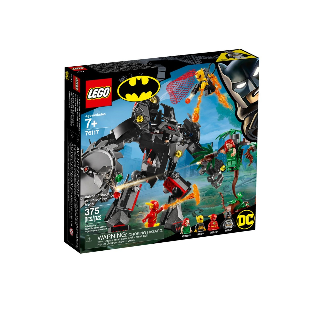 LEGO DC COMICS SUPER HEROES 76117 Batman Mech vs. Poison Ivy Mech