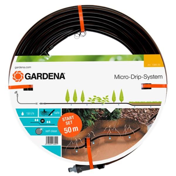 Gardena Tropfrohr unterirdisch 13,7 mm 1389-20 Micro-Drip-System 50m 1,6 l/h