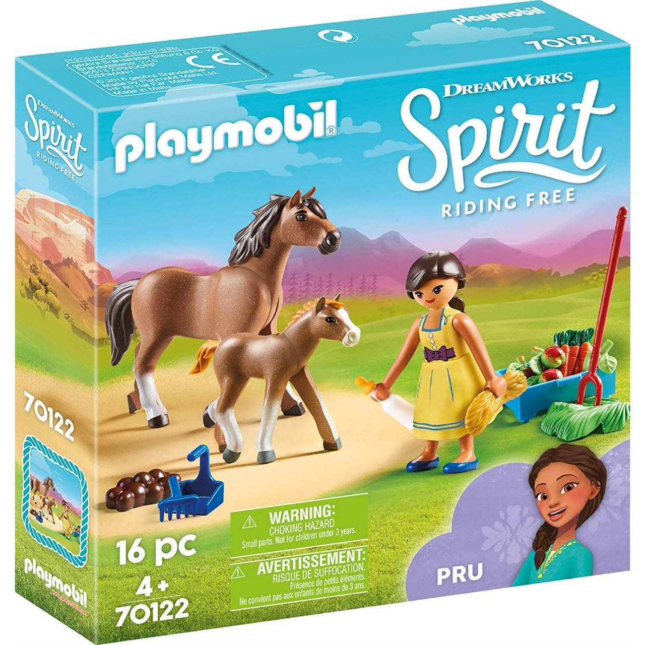 Playmobil 70122 Pru mit Pferd und Fohlen