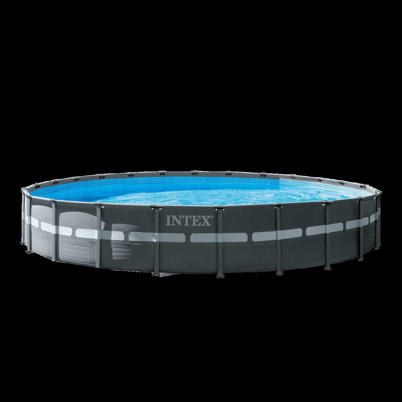 Intex Swimming Pool XTR Ultra Frame Pool Set Ø732x132cm Rondo Komplett-Set 26340