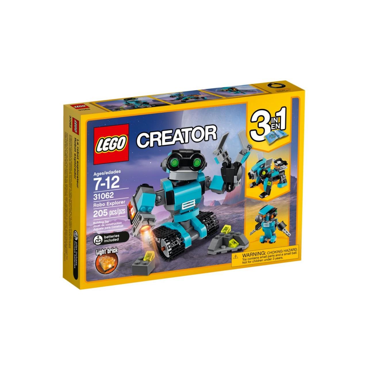 LEGO CREATOR 31062 Forschungsroboter