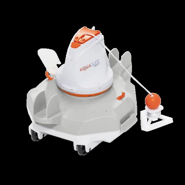 Bestway 58620 Flowclear akkubetriebener Poolsauger AquaGlide Roboter Bodensauger