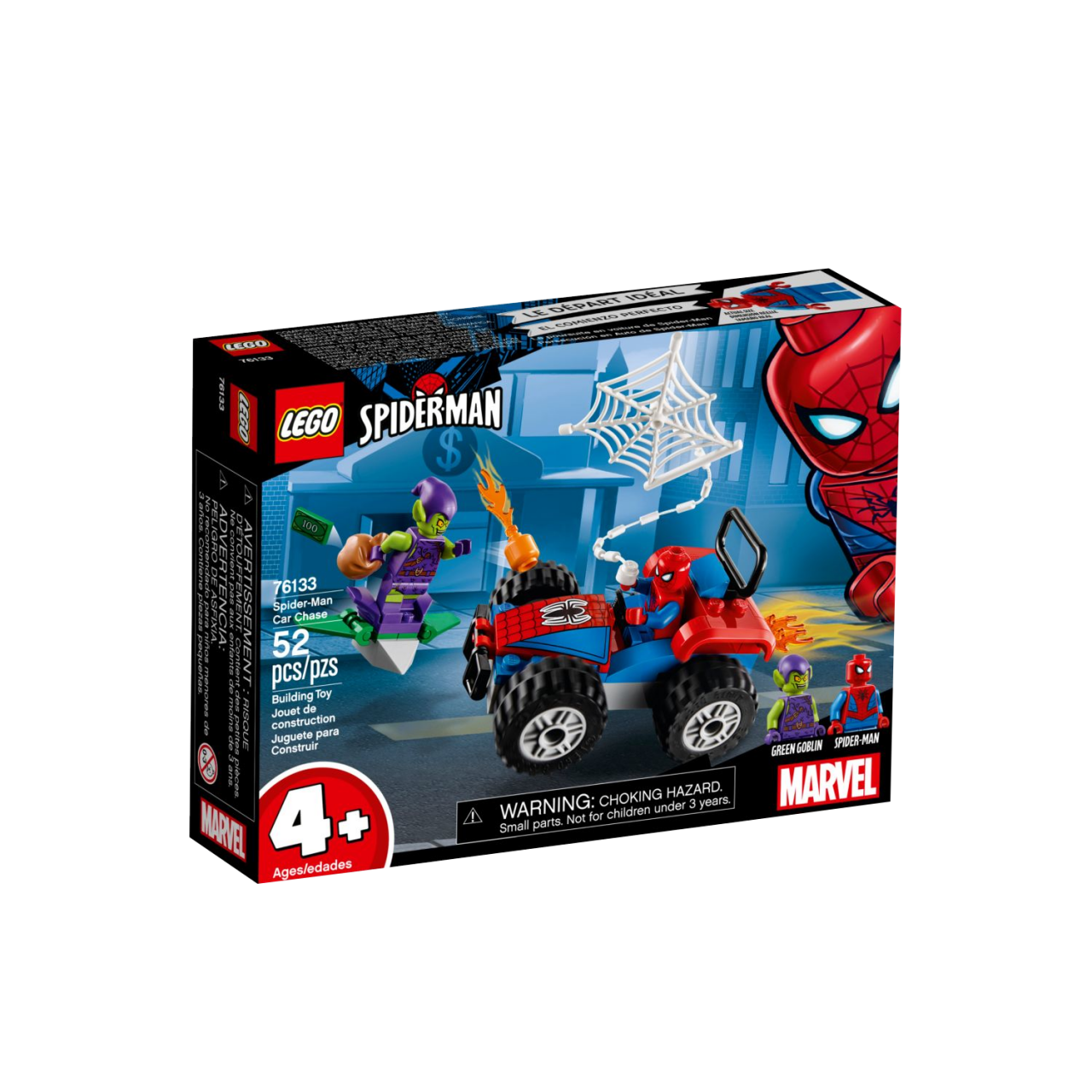 LEGO MARVEL SUPER HEROES 76133 Spider-Man Verfolgungsjagd