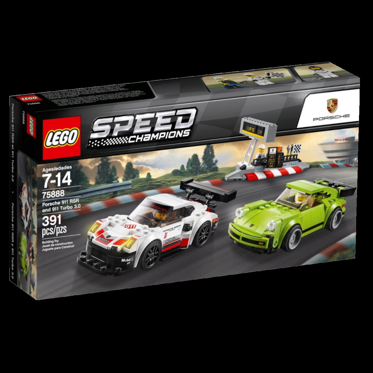 LEGO SPEED CHAMPIONS 75888 Porsche 911 RSR und 911 Turbo 3.0