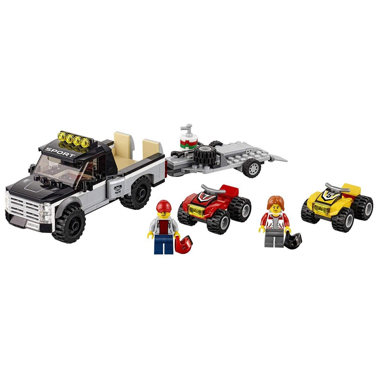 LEGO CITY 60148 Quad-Rennteam
