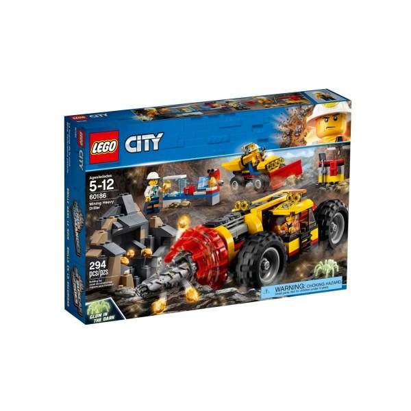 LEGO CITY 60186 Schweres Bohrgerät für den Bergbau