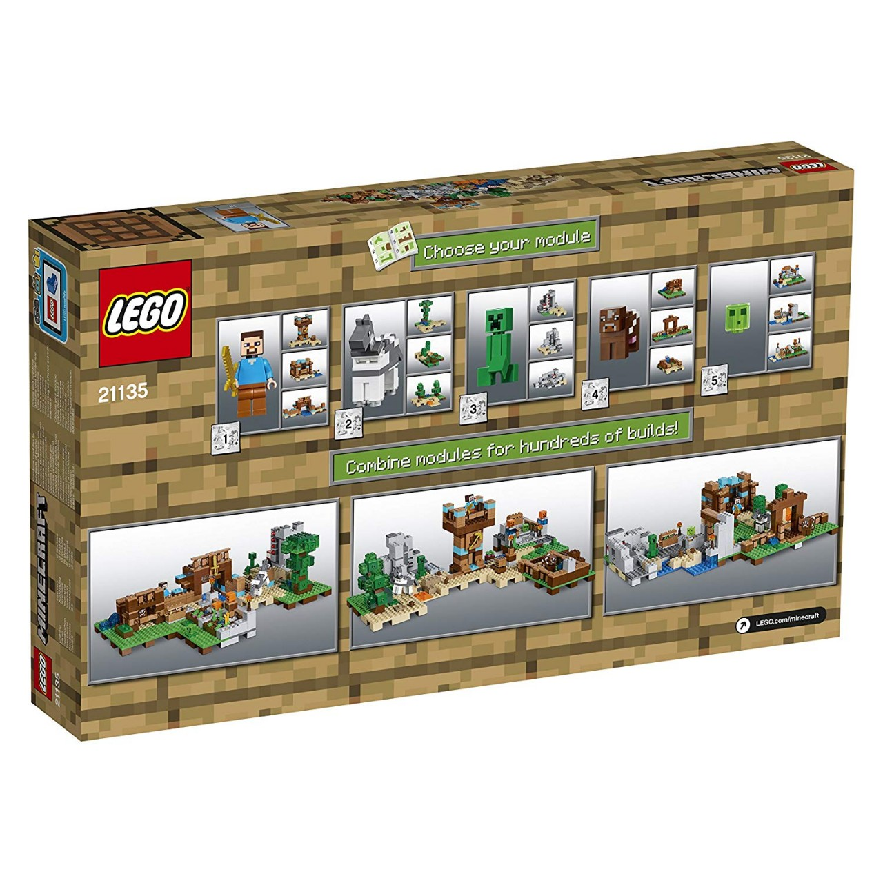 LEGO MINECRAFT 21135 Die Crafting-Box 2.0