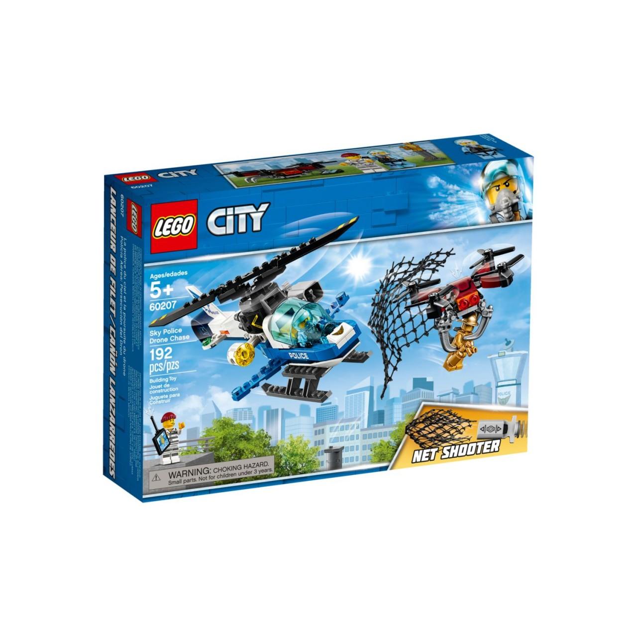 LEGO CITY 60207 Polizei Drohnenjagd