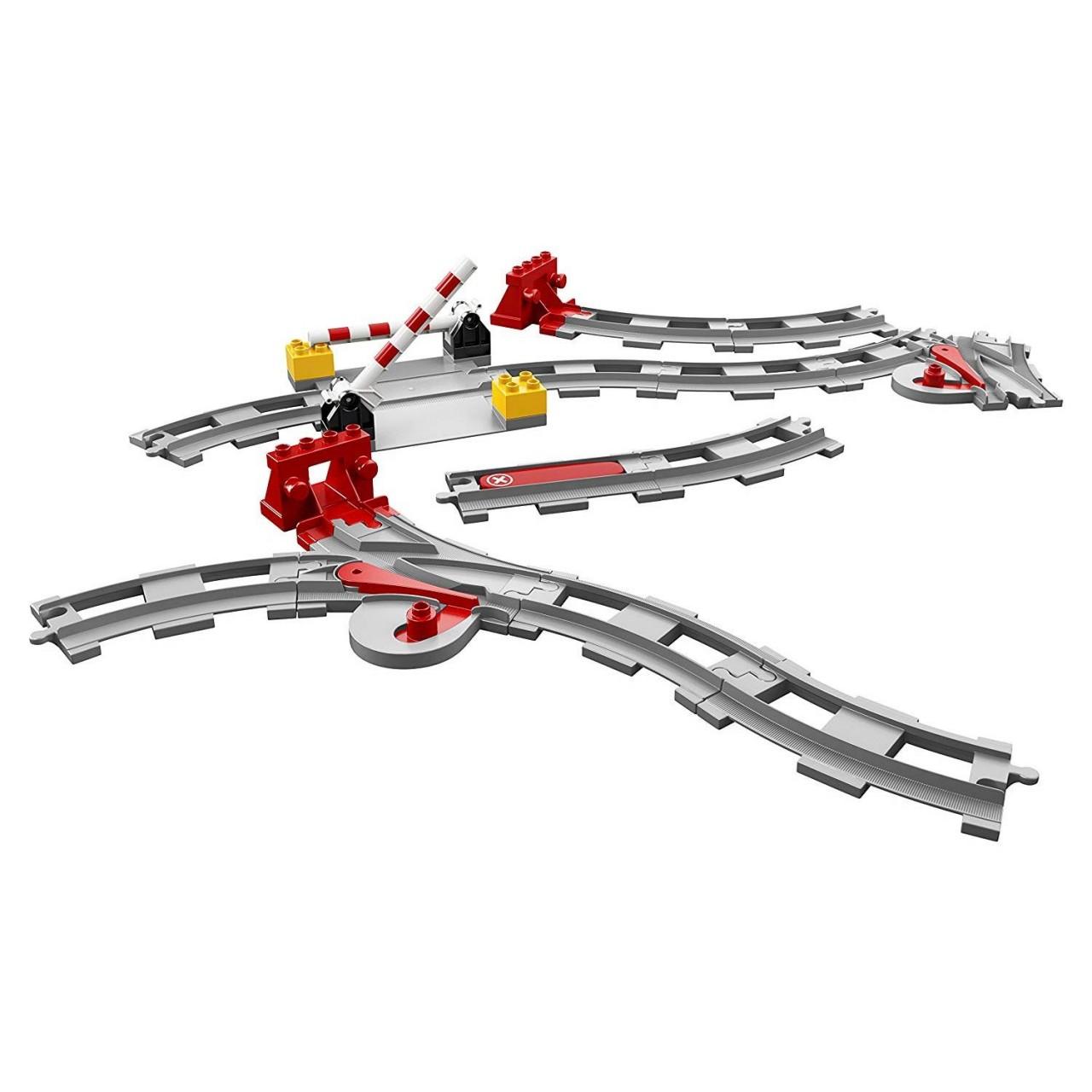 LEGO DUPLO 10882 Eisenbahn Schienen