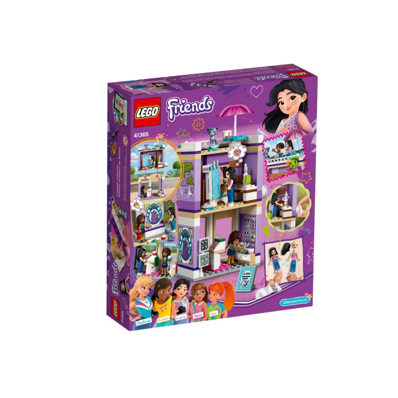 LEGO FRIENDS 41365 Emmas Künstlerstudio