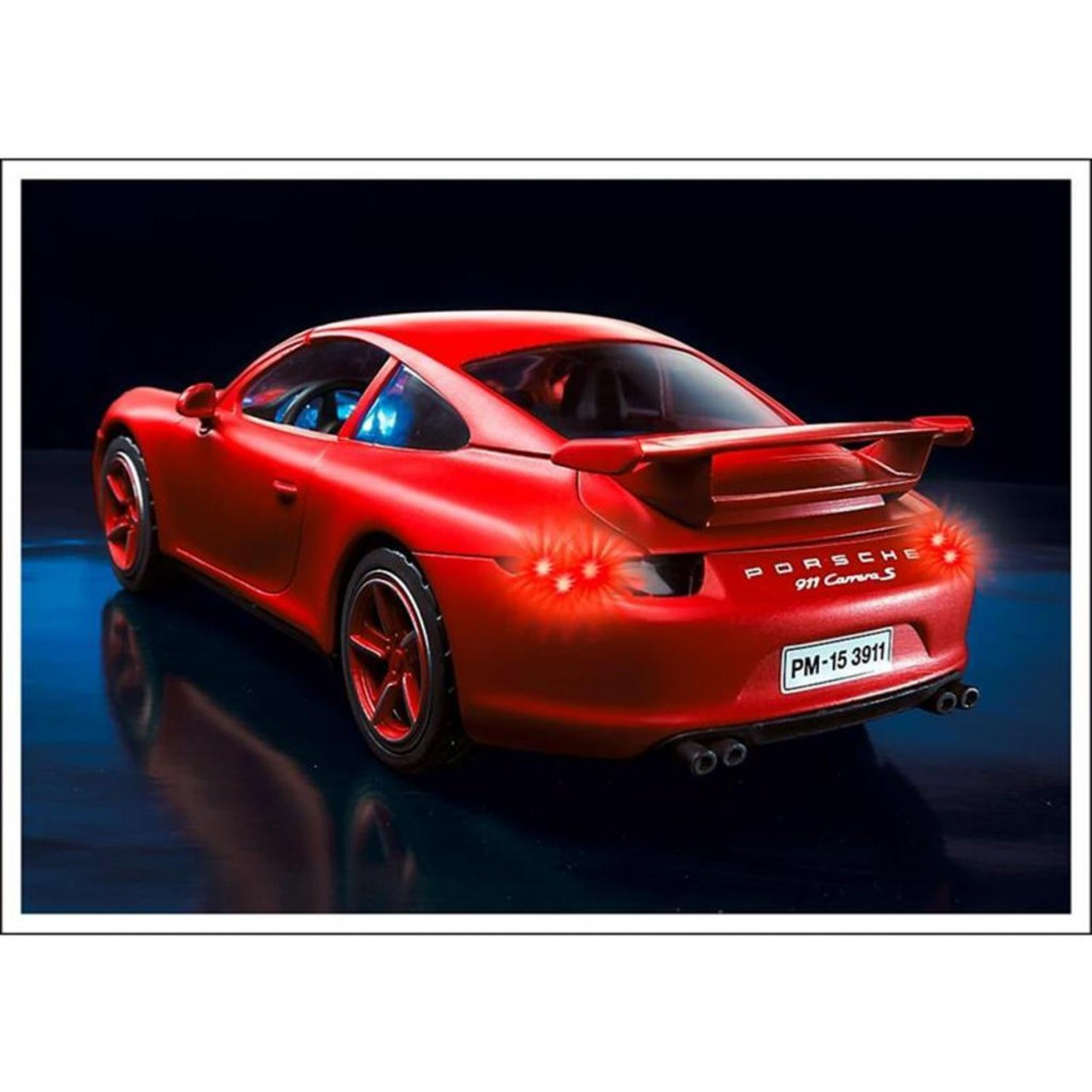 PLAYMOBIL 3911 Porsche 911 Carrera S Auto rot NEU OVP