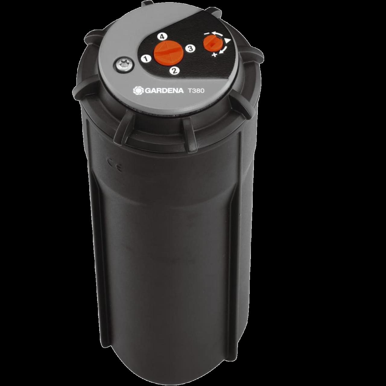 Gardena 8205-29 Sprinklersystem Turbinen-Versenkregner T 380