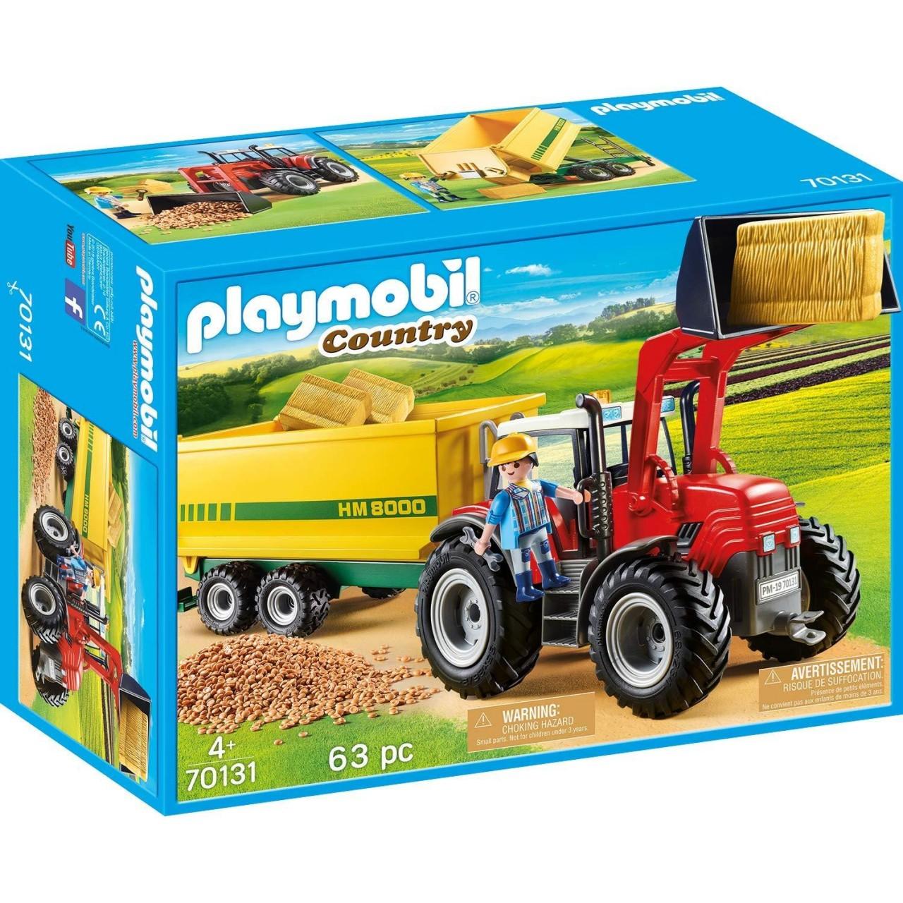 Playmobil 70131 Riesentraktor mit Anhänger
