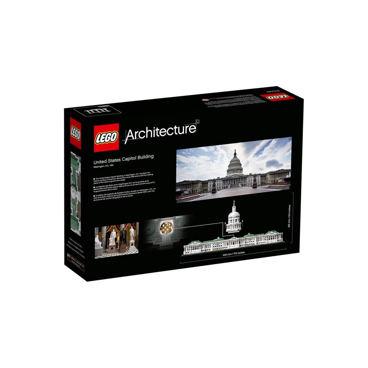 LEGO ARCHITECTURE 21030 Das Kapitol