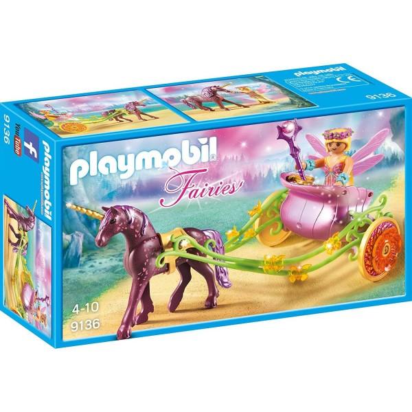 Playmobil 9136 Blumenfee mit Einhornkutsche